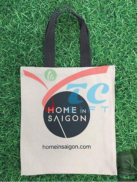 TÚI VẢI BỐ MÀU TRẮNG KEM HOME IN SAIGON