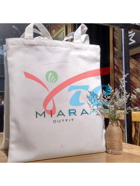 Túi canvas trắng tẩy MIARA