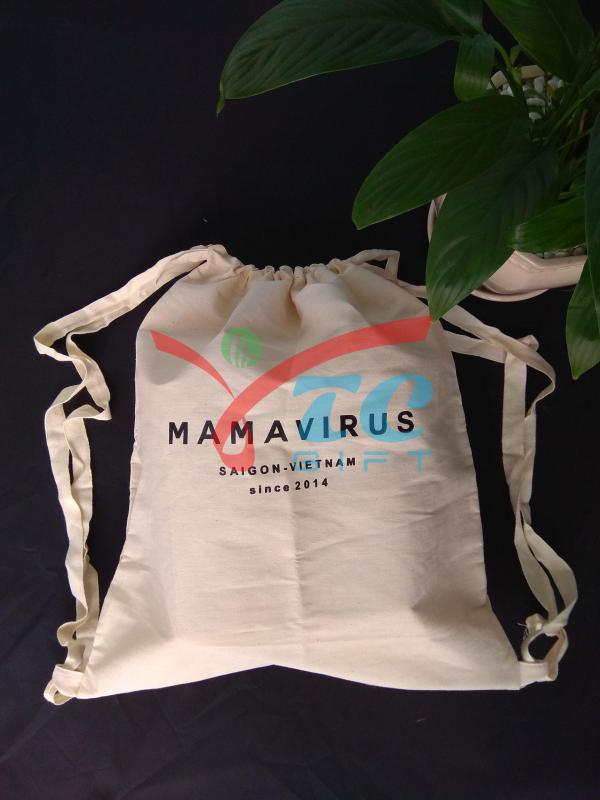 TÚI DÂY RÚT VẢI BỐ MAMAVIRUS