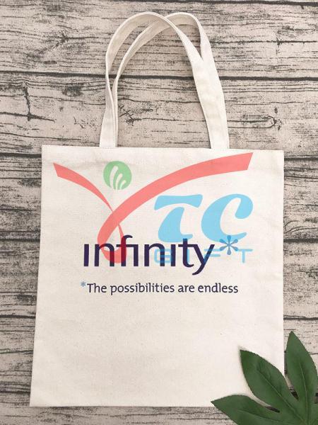 TÚI TOTE MÀU TRẮNG KEM INFINITY